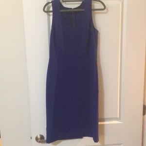 Ann Taylor royal blue dress